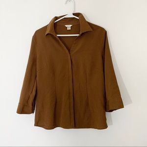 Blouse/Button from Christopher and Banks | Woman's